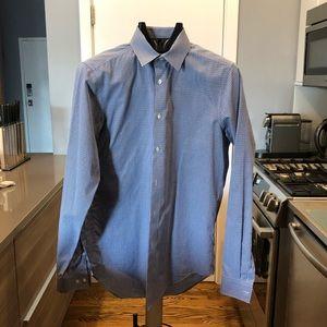 Calvin Klein slim fit performance non-iron shirt